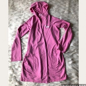 Victoria's Secret PINK Hooded Robe with Pockets